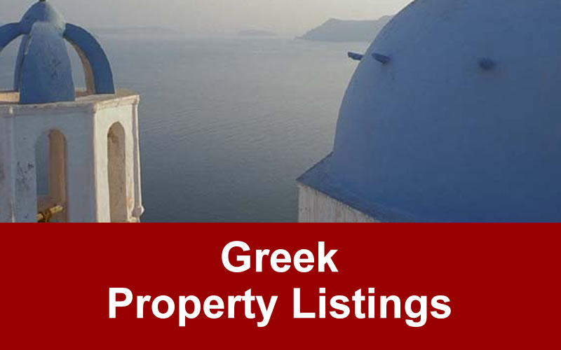 Greek Property For Sale