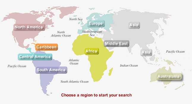 International Property Listings Map